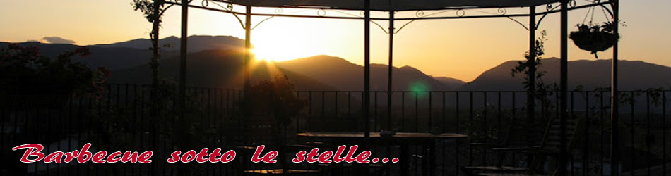 Barbecue sotto le stelle